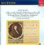 John Blow: Ode on the Death of Mr. Henry Purcell. 6 Songs from 'Amphion Anglicus. Leonhardt, Dir.
