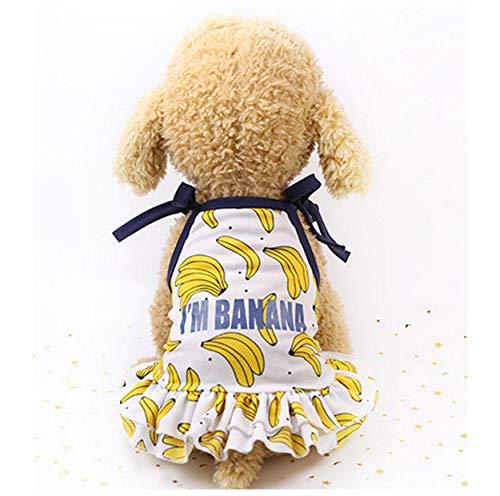 MUXIAND mode Huisdier hond jurk lente en zomer kleding puppy hond kat T-shirt Chihuahua Teddy vest badpak sportkleding Zomer huisdier kleding, XXL