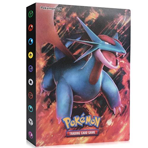 Pokemon Cartas Álbum, Álbum de Pokemon, Comercio Tarjeta Álbum, Carpeta de Titular de Tarjetas de Pokemon, Pokemon Cards Album Protección, Pokemon Cards GX EX Album Pokemon Cards Album, 30 páginas