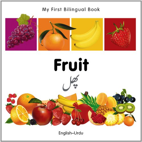 My First Bilingual Book–Fruit (English–Urdu)