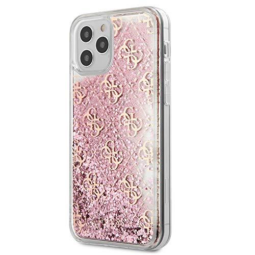 """Oferta de Guess GUHCP12LLG4GSPG 4G - Carcasa para iPhone 12 Pro MAX 6,7"""", Color Rosa"""