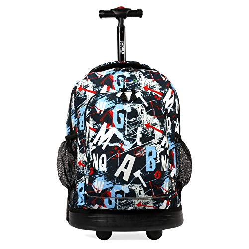 j-world-new-york-sunny-rolling-backpack-for-kids-and-adults-graffiti