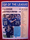 Gillingham 4 Sheffield United 0 - 2015 - recuerdo impresión