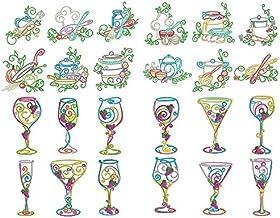 Seasonstorm Wine Grass Kitchen Tools Kawaii Aesthetic Pastel Art Agenda Journal Planner Stationery Stickers