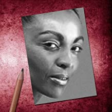 ADJOA ANDOH - ACEO Sketch Card (Signed by The Artist) #js002