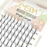 Premade Fans Volume Lash Extensions C Curl D Curl 0.07 Mix Tray 9mm 10mm 11mm 12mm 13mm 14mm 15mm 16mm Mixed Trays .07 8D Fanned Russian Cluster Eyelashes by EMEDA (8D .07 D 9-15mm Mix)