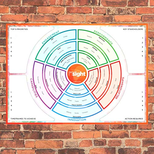 De Strategic Insight Heat Map - de perfecte partner voor het Strategic Insight kaartspel om leiderschapsteams te ondersteunen bij het lokaliseren en begrijpen van organisatorische kwesties