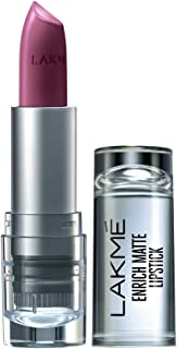 Lakme Enrich Matte Lipstick, Shade WM10, 4.7 gm