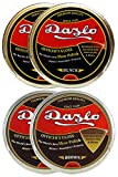 Dazlo Handmade Natural Wax Shoe Polish Black (2x40g) and Brown (2x40g)