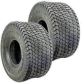 Set Of 2 Kenda K500 Super Turf Mower Tire 4 PLY 20X10.50X8