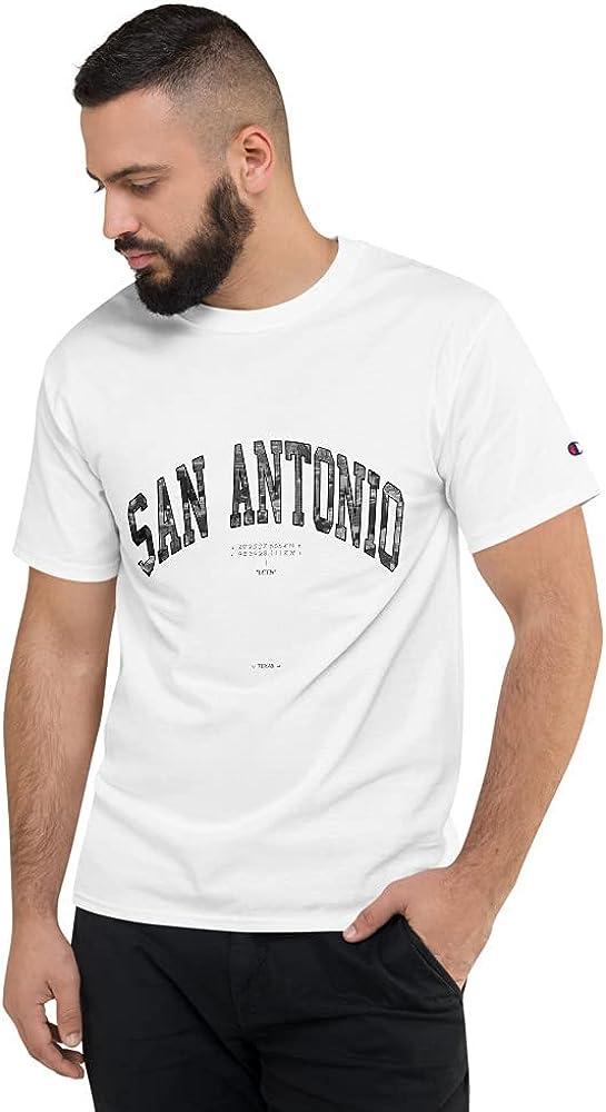 San Antonio 2021 spring and summer new T-Shirt x Shirt White Champion Price reduction