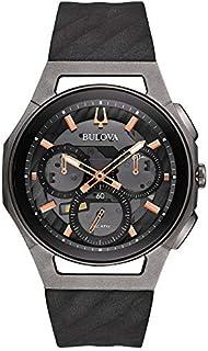 Bulova Men's 44mm CURV Collection Dark Gray Chronograph Watch