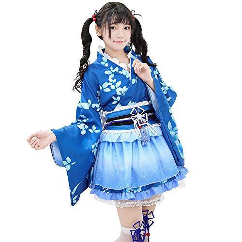 Vestido de Albornoz Kimono de Estilo japonés Anime...