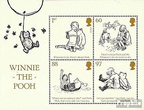 Royaume-Uni Bloc 60 (complète.Edition.) 2010 Enfants PU Le Supporter (Timbres pour Les collectionneurs) Bandes dessinées
