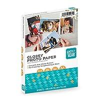 Pen+Gear 光沢写真用紙 4x6 50枚 8.5ミル インクジェットプリンター用 10×15