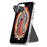 Phone Case Our Lady of Guadalupe Virgin Mary Compatible with iPhone 6 6s 7 8 X XS XR 11 Pro Max SE 2020 Samsung Galaxy Waterproof Tested Charm
