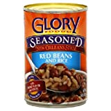 Glory Foods, Seasoned, Red Beans & Rice, 15oz Can (Pack of 6)