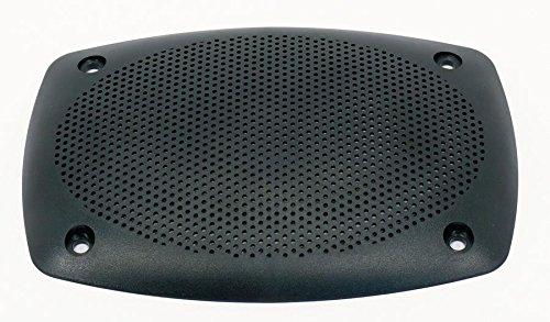Visaton Schutzgitter 9 x 15 PL, Schutzgitter aus schwarzem Kunststoff Passend für: (973977000298)