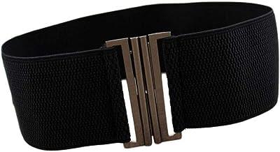 Oyccen Donna Cintura Larga Corsetto Elastica Cinture in Vita Regolabile per Vestito Pantaloni