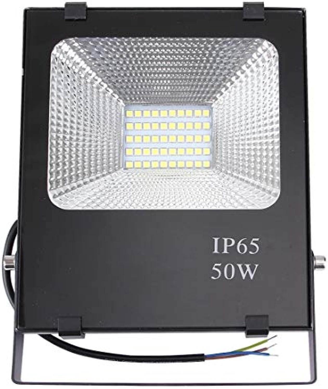 50W 2700-6500K SMD-5054 IP65 wasserdichte LED-Flutlichtlampe im Freienlicht, Wechselstrom 85-265V Flutlicht