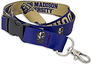 James Madison University Dukes Lanyard Badge ID Holder