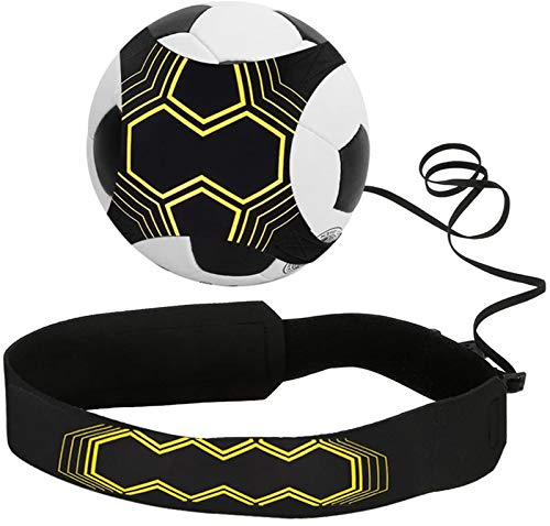 Infreecs Football Trainer Fußball Practice Solo, Fußball Training Adjustable Waist Belt für Kinder Anfänger Kick Off Trainer