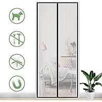 cortinas con imanes para puertas blanca