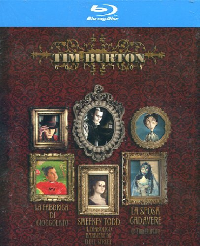 Tim Burton Collection [Italia] [Blu-ray]