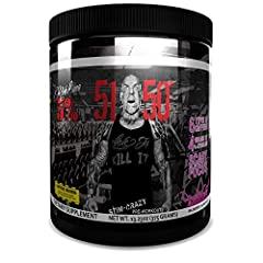 MEGA-DOSED ENERGY, FOCUS & PUMP! 5150's one-of-a-kind preworkout blend will give you insane energy, extreme pumps and vascularity, razor-sharp focus, intense motivation, and extended endurance. JITTER-FREE INTENSITY & DRIVE: The Stim-Crazy Caffeine C...
