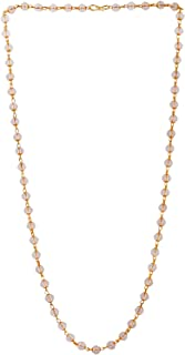 Handicraft Kottage Fancy Gold Pearl Plated Chain/Mala Girls & Women