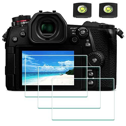Protector de Pantalla para Panasonic LUMIX G7 G8 G9 4K cámara y Réflex Digitales, ULBTER 0,3 mm Dureza 9H Vidrio Templado –[2+ 3 Unidades]