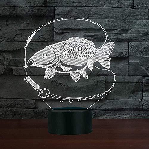 3D lamp leuk model motorfiets nachttafeldecoratie met USB-kabel als beste cadeau voor jongens, meisjes of gezinnen Interruttore del telecomando Stile 253