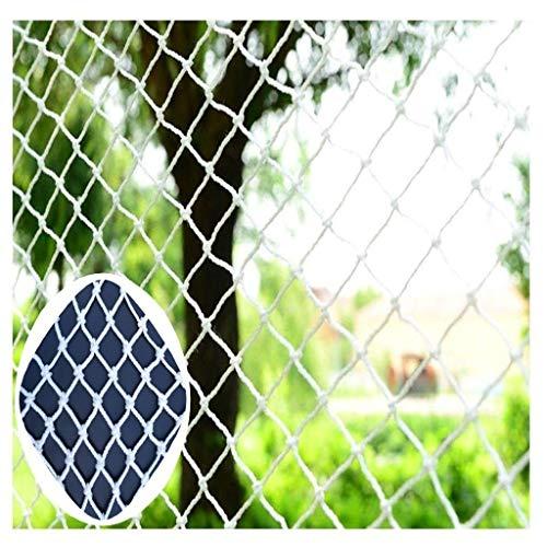 xkk Nylon Copertura sicura Rete Bianca Child Protective Netto Durevole Mesh Nets for Guida Stair Balcone Gatti Giochi di Personalizzazione (Size : 3 * 6m(10ft*20ft))