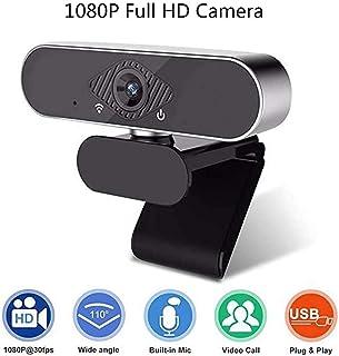 كاميرا ويب 1080 بكسل ، USB ميني PC كاميرا ويب مدمجة، عرض ممتد 110 درجة، مناسبة للمؤتمرات الفيديو ، يوتيوب، التسجيل والفيديو