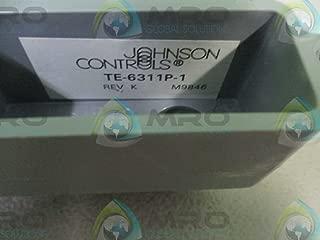 Johnson Controls TE-6311P-1 Temperature Sensor, Duct Mounting, Nickel, 1000 Ohm