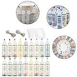Oddity Kit Tinture 18 Colori, colorante Acqua Fredda, colorante per Tessuti Non tossici, P...