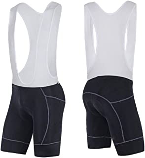 sponeed Men's Road Cycle Bib Padded Cycling Bibs Knickers Compression Shorts Pants