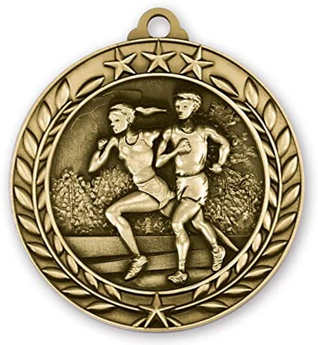 Express Medals Cross Louisville-Jefferson County Mall Country Gold 1st Medal Neck Max 58% OFF Place Ribb with