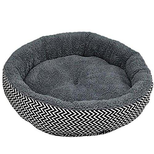 Pinzhi chongwudian-7 Round Pad Pet Cushion, Gris,...