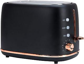 STRAW Grille-pain électrique en acier inoxydable ménage automatique fabricant de pain machine de petit déjeuner Toast Sand...