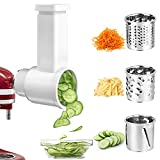 Best Cheese Shredders - Slicer/Shredder Attachments for KitchenAid Stand Mixer, GEEKHOM Cheese Review