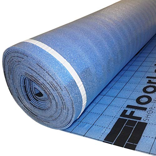 FLOORLOT SHOP. FLOORS. DELIVERED. BlueMax 200sqft 3mm Laminate Flooring 2X Double Moisture Barrier Underlayment