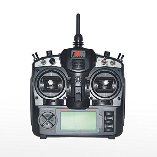 Flysky FS-TH9X 2.4G 9 Channel Model 2 Transmitter with Receiver Combo TX RX Control System for RC Helicopter Airplane