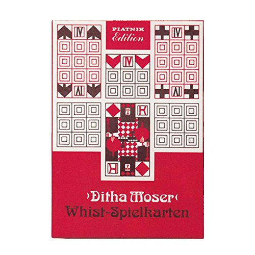 Piatnik 2891 Kartenspiel Ditha Moser Whist, 2 x 52 Blatt