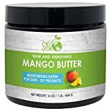 Mango Butter (16 oz) by Sky Organics Raw 100% Pure Unrefined Mango Butter for Face Body and DIY Raw Mango Body Butter Natural Mango Butter for All Skin Types