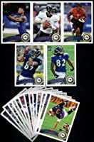 2011 Topps Baltimore Ravens Complete Team Set (18 Cards)
