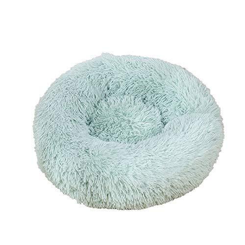 Decdeal Bett für Katzen Bett für Hunde Bett weich rund für Tier Bett Donut Hund...