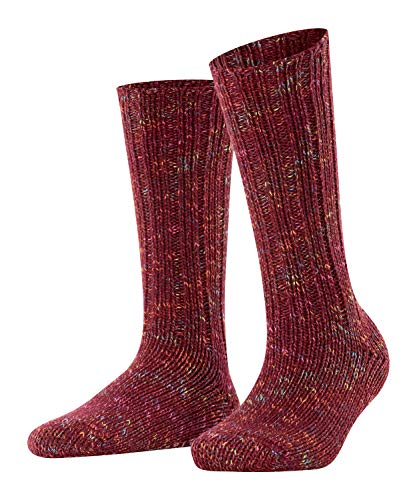 ESPRIT Cosy Boot W So Chaussettes, Rouge (Shadow Red...