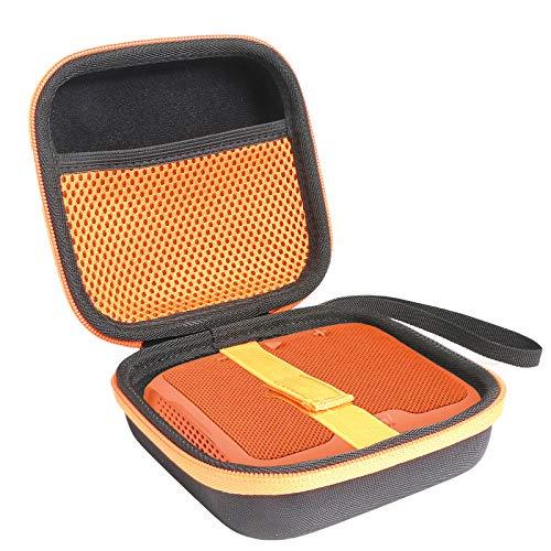 co2CREA Hart Reise schutzhülle Etui Tasche für Teufel BOOMSTER GO Streaming Bluetooth Wireless Musik BT WiFi