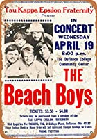 Shimaier 20×30cm 金属ブリキ看板ホーム装飾壁アート 1967 The Beach Boys in Ohio